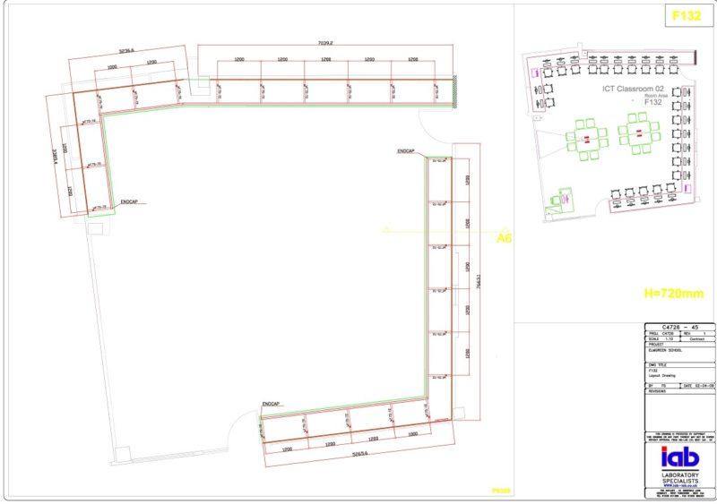 The Elmgreen School - Laboratory Furniture - 001
