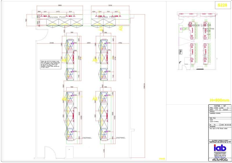 The Elmgreen School - Laboratory Furniture - 002