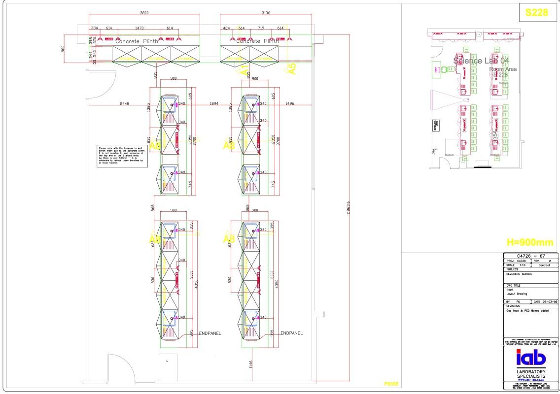 The Elmgreen School Laboratory Furniture 002 Iab Lab
