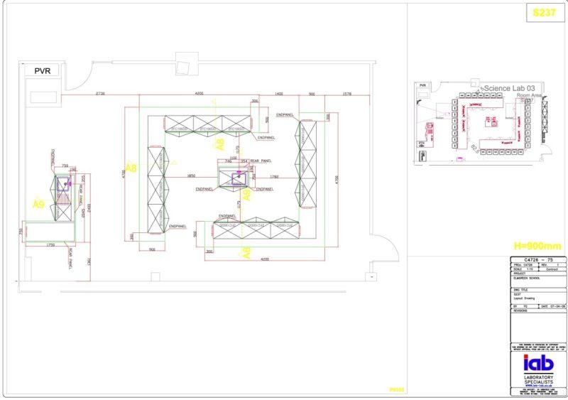 The Elmgreen School - Laboratory Furniture - 004
