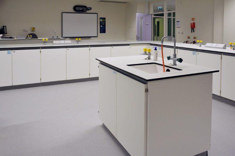 The Elmgreen School - Laboratory Furniture - 016