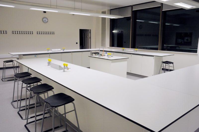 The Elmgreen School - Laboratory Furniture - 018