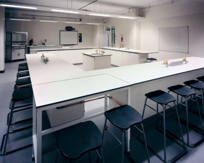 The Elmgreen School - Laboratory Furniture - 037
