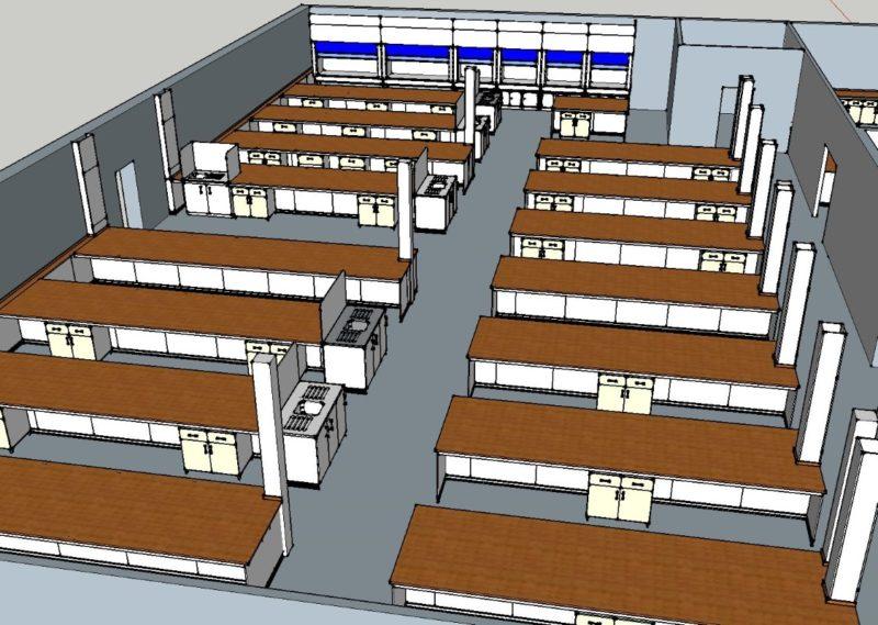SGS Ellesmere Port - Laboratory Furniture - 000