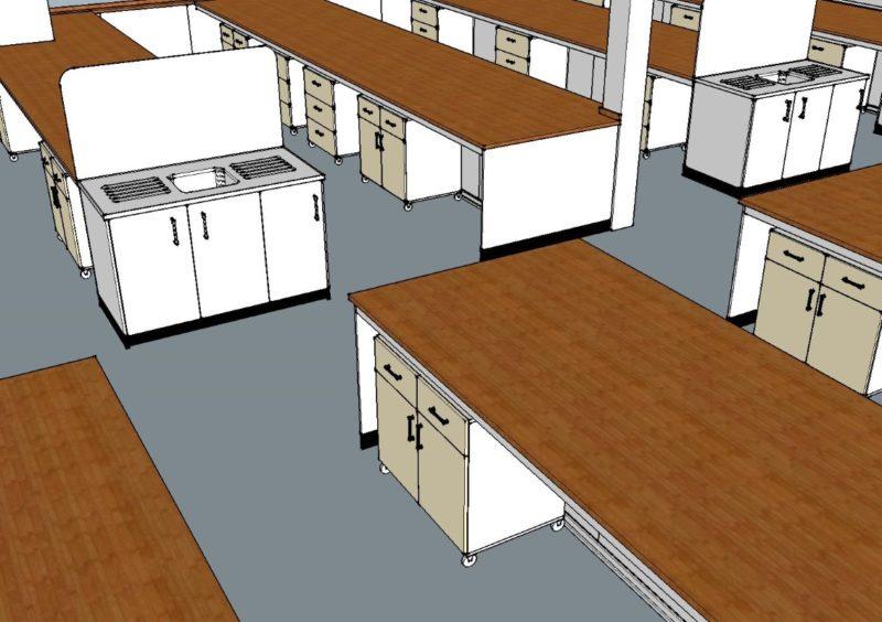 SGS Ellesmere Port - Laboratory Furniture - 001
