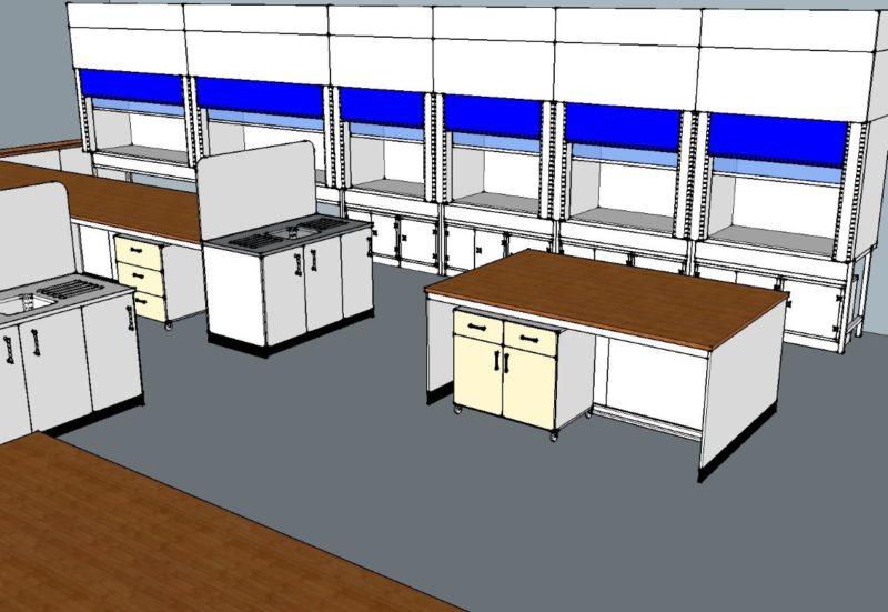 SGS Ellesmere Port - Laboratory Furniture - 002