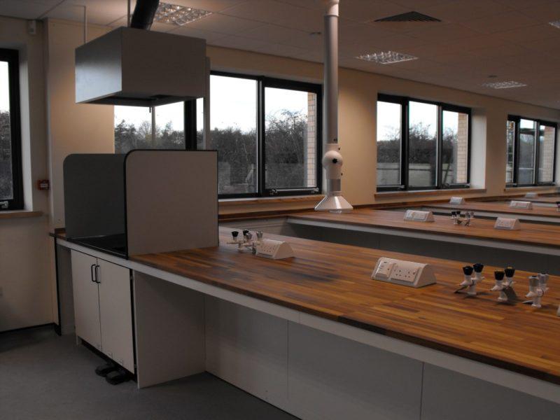 SGS Ellesmere Port - Laboratory Furniture - 009