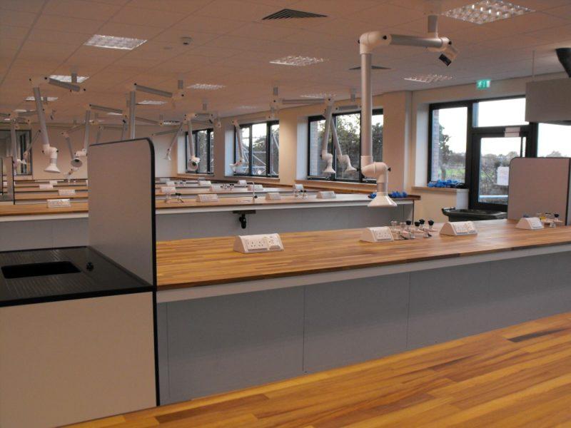 SGS Ellesmere Port - Laboratory Furniture - 018
