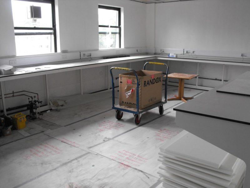 Spire Healthcare Manchester Micro - Laboratory Furniture - 17