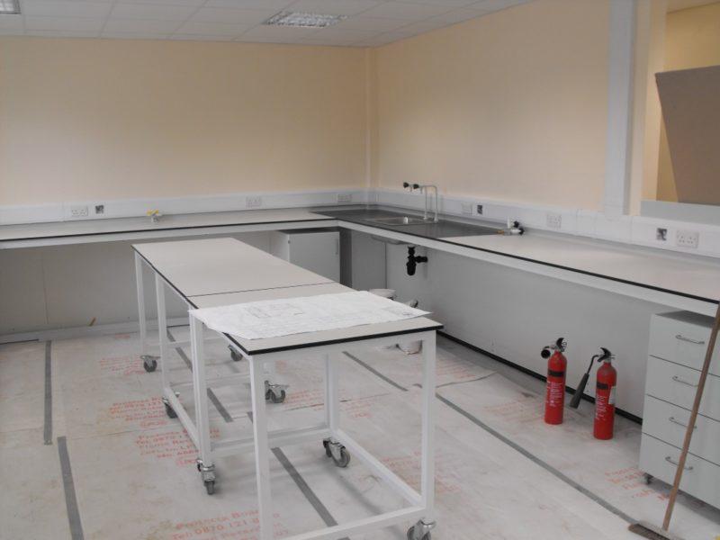 Spire Healthcare Manchester Micro - Laboratory Furniture - 18