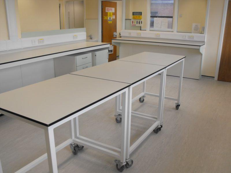Spire Healthcare Manchester Micro - Laboratory Furniture - 3