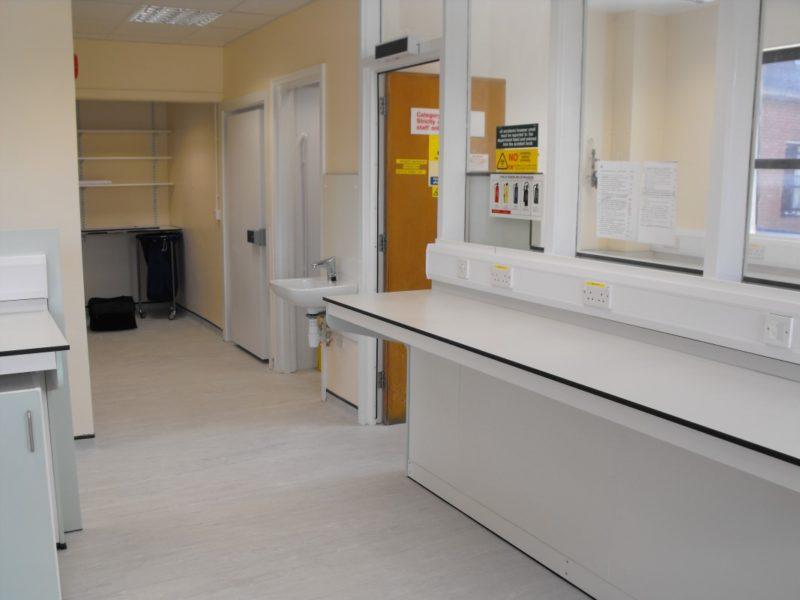 Spire Healthcare Manchester Micro - Laboratory Furniture - 5