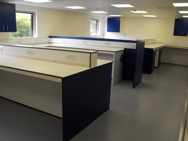 Spire Manchester - Gatwick - Laboratory Furniture - 40