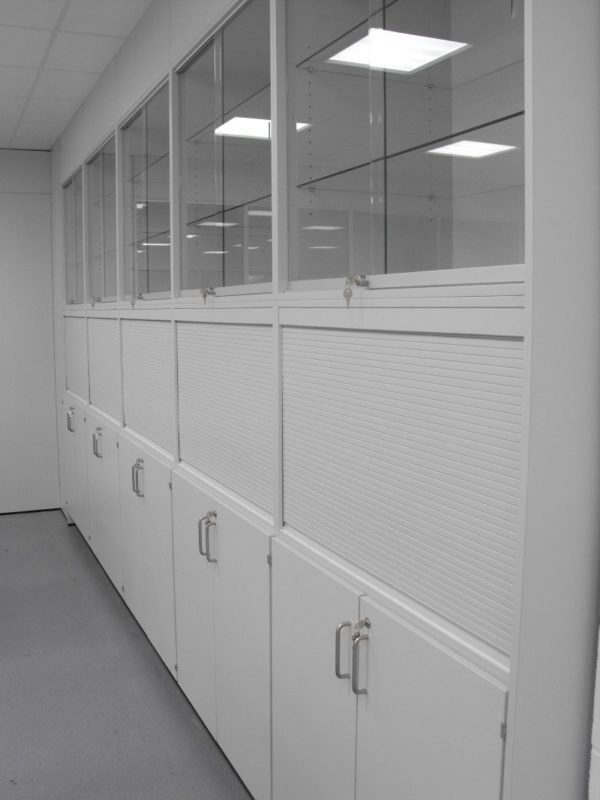 University of Derby T102 and T103 - Laboratory Furniture - cabinets