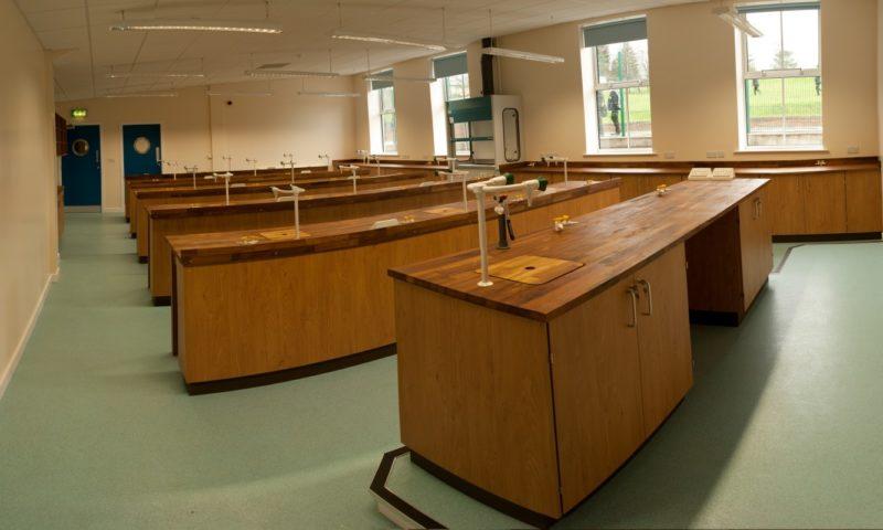 Ermysteads Grammar School - Phase 3 - Laboratory Furniture - 02