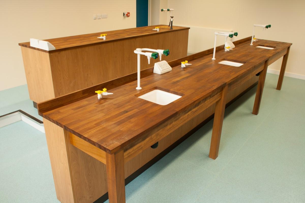 Ermysteads Grammar School - Phase 3 - Laboratory Furniture - 12