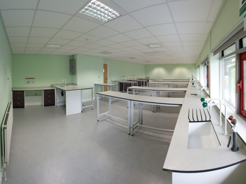 Laboratory Furniture for Outwood Grange Academy