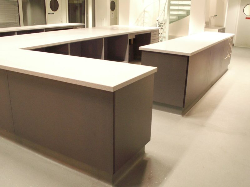 AES Horsley Water Treatment Works - Laboratory Furniture - 1