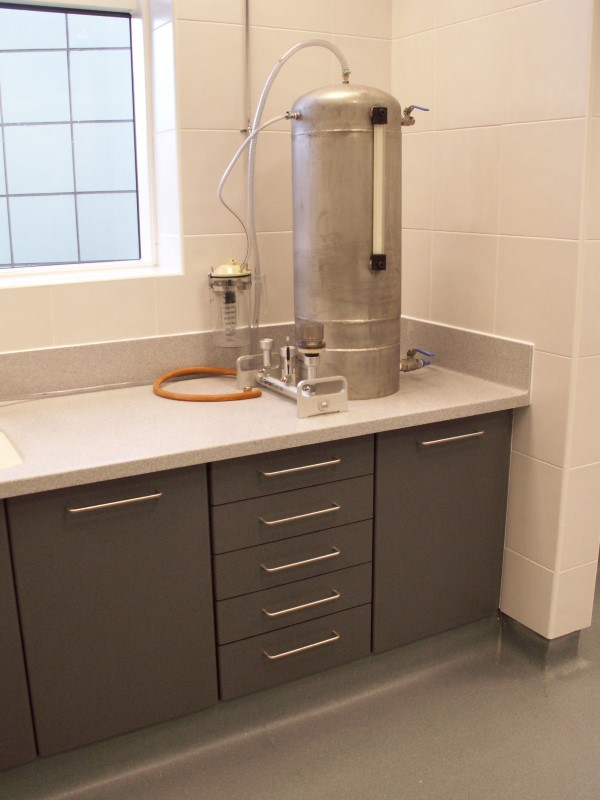 AES Horsley Water Treatment Works - Laboratory Furniture - 07
