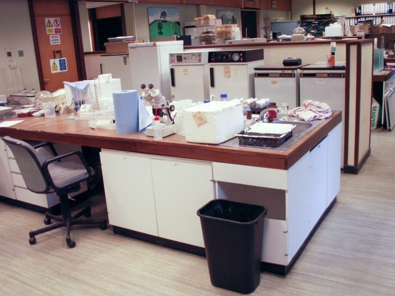 Institute of Grassland Environmental Research - Laboratory Furniture - 01