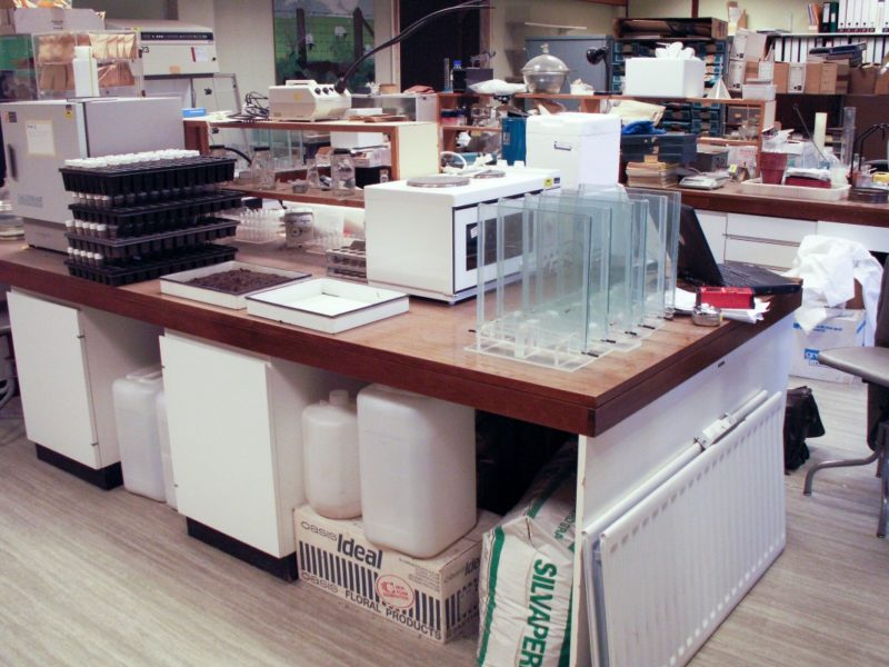 Institute of Grassland Environmental Research - Laboratory Furniture - 03
