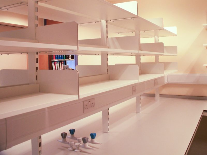 Institute of Grassland Environmental Research - Laboratory Furniture - 07