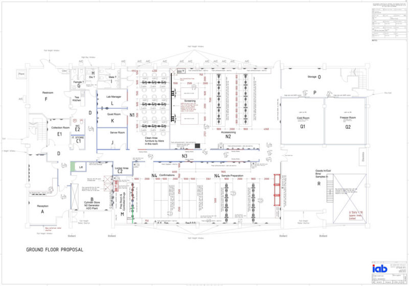 C4988---01-General-Arrangement-Ground-Floor-Laboratory-Refurbishment