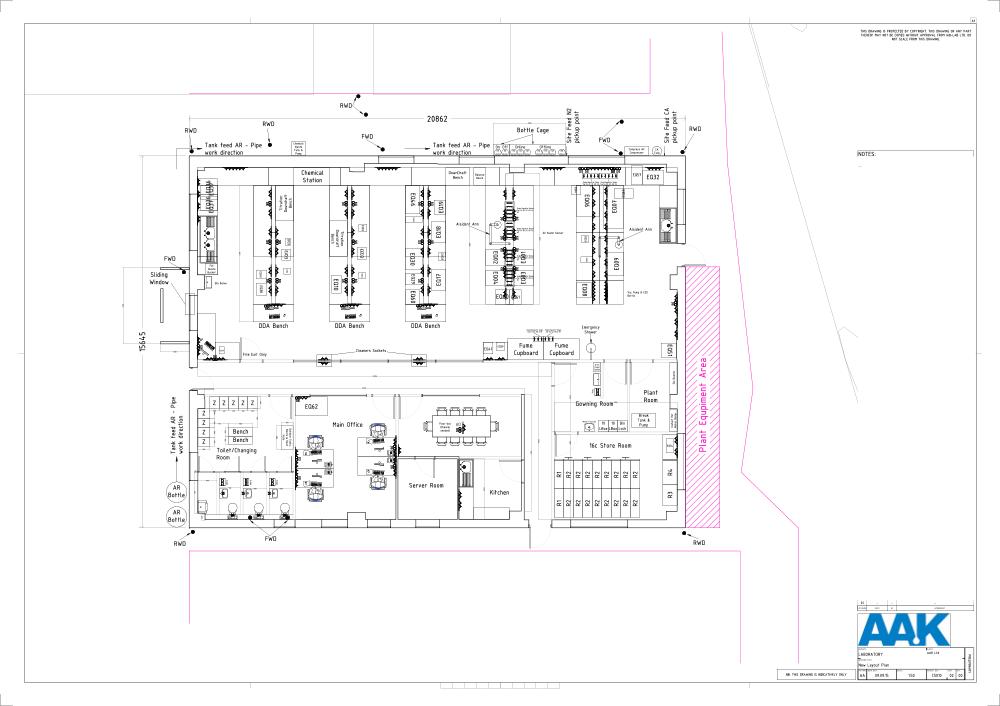 C5010 - AAK - QC Laboratory Design - New Layout