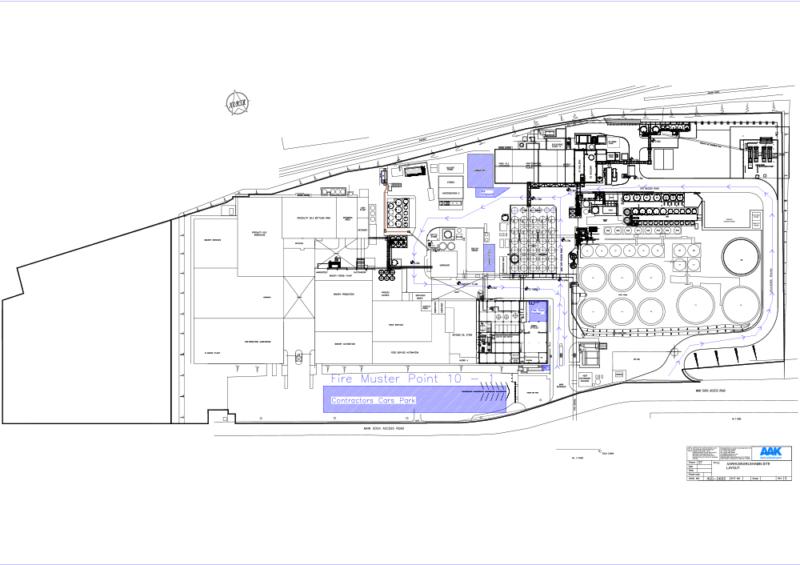 C5010 - AAK - QC Laboratory Design - Site Plan