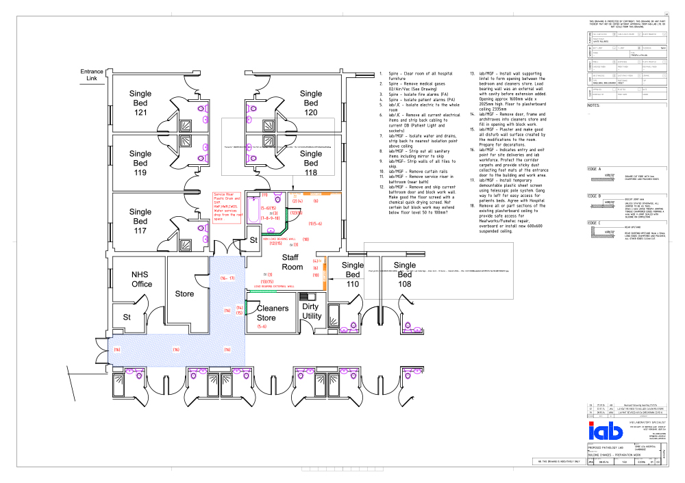 Photo : Medical Clinic Floor Plans Images. 64 X 48 Clinic