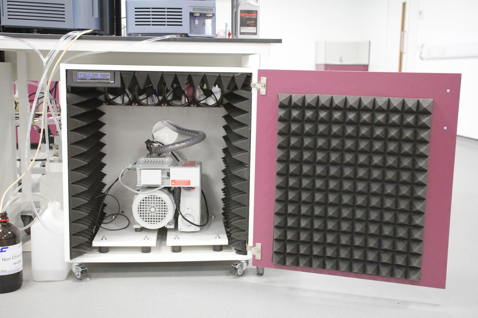Mass Spec Vacuum Pump Enclosures