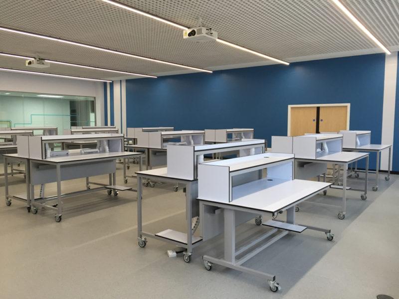 Bradford Uni - Bespoke Mobile Tables - 04