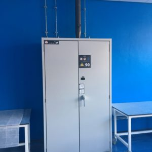 Natural Resources Wales - Lab Design and Refurbishment - Gas Storage Container