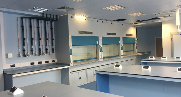 Natural Resources Wales – Lab Refurbishment