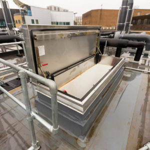 Natural Resources Wales - Lab Design and Refurbishment - Roof Access Hatch