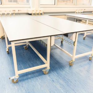 Natural Resources Wales - Lab Design and Refurbishment - Work Bench Gas Pressure Gages