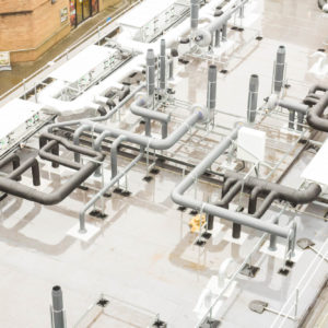 Natural Resources Wales - Lab Design and Refurbishment - Fume Cupboard Extraction Pipes Laboratory Pipes