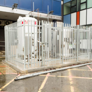 Natural Resources Wales - Lab Design and Refurbishment - Gas Containers