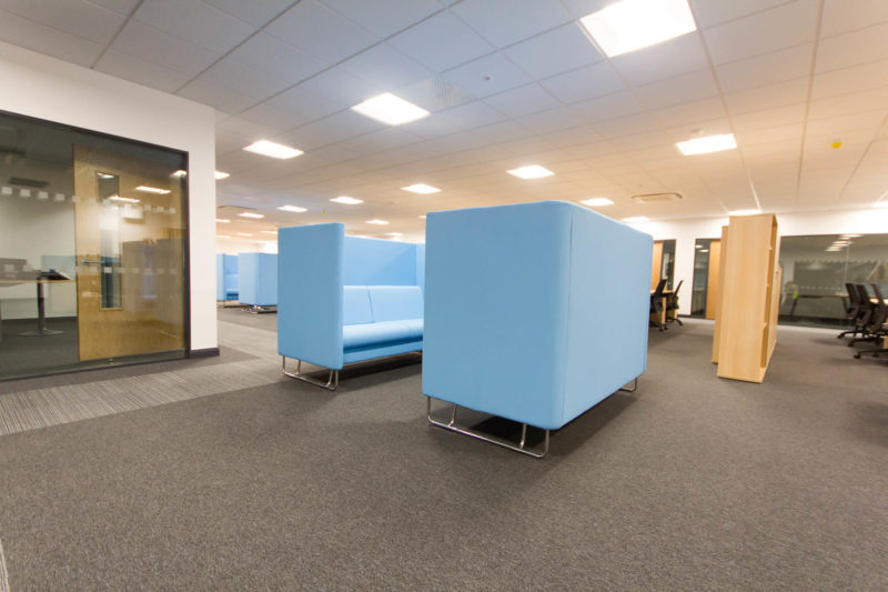 C5147 - Alere Abingdon - Unit 21 - Warehouse Office Convertion Refurbishment - Office Booths