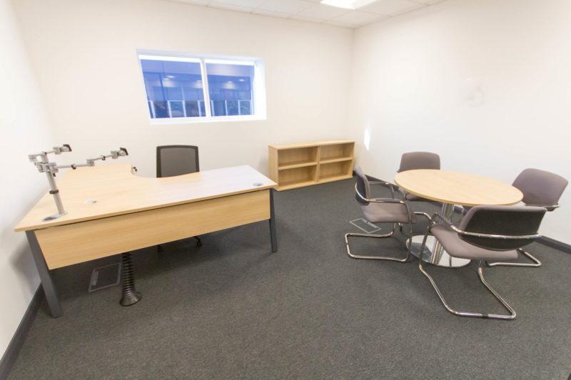 C5147 - Alere Abingdon - Unit 21 - Warehouse Office Convertion Refurbishment - Desk Office Chairs
