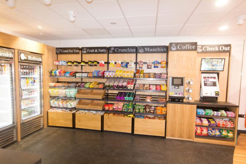 C5147 - Alere Abingdon - Unit 21 - Warehouse Office Convertion Refurbishment - Cafe Food Kitchen Fridge