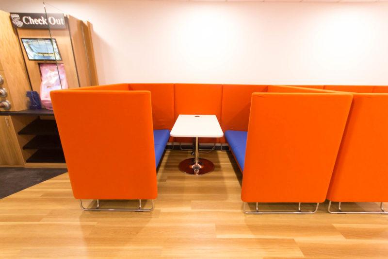 C5147 - Alere Abingdon - Unit 21 - Warehouse Office Convertion Refurbishment - Desk Booth
