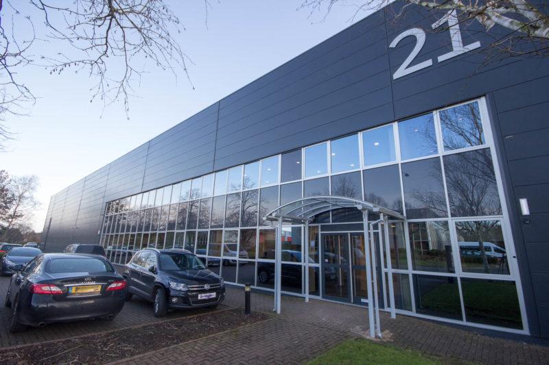 C5147 - Alere Abingdon - Unit 21 - Warehouse Office Laboratory Convertion Refurbishment - Cars Office Warehouse