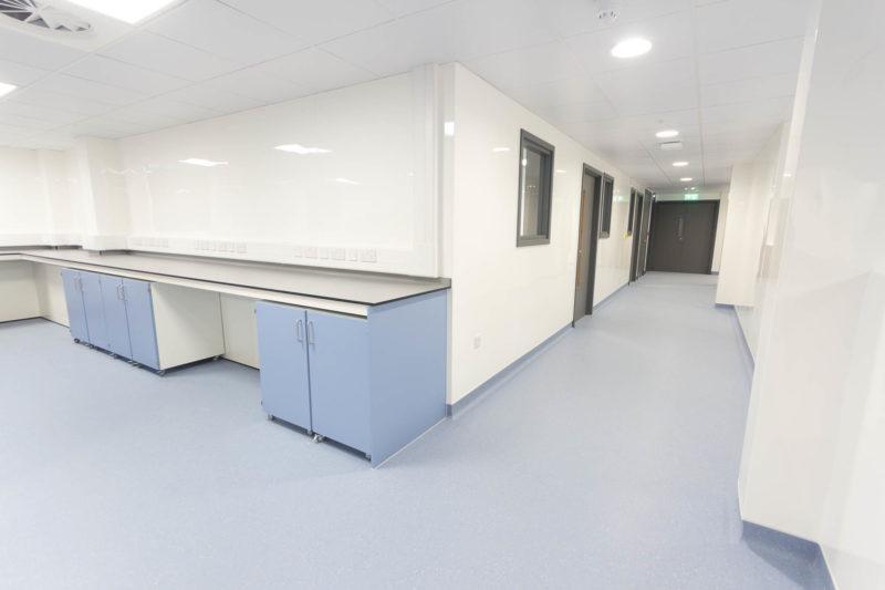 C5208 - Spire Parkway 1 - Corridor Cabinets Workspaces Plug Sockets