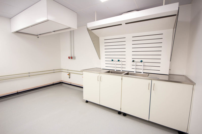 C5301-Pharmaceutical Cellular Quality Control Laboratories- Sinks Taps Cabinets