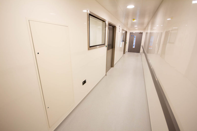 C5301-Pharmaceutical Cellular Quality Control Laboratories- Corridor