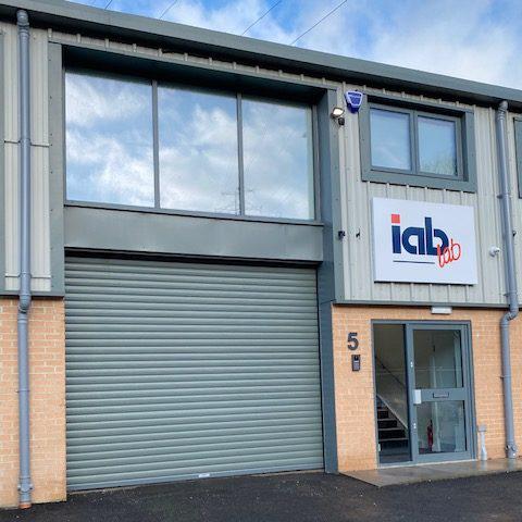 New Office 01 - Garage Door IAB Lab Door Office Security Code Box